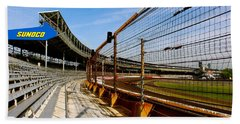 Indy  Indianapolis Motor Speedway Beach Sheet by Iconic Images Art Gallery David Pucciarelli