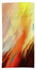 Beach Towel featuring the digital art Inferno by Matt Lindley