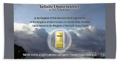Infinite Opportunities Beach Sheet
