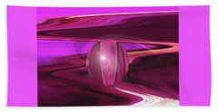Infinity And Beyond - Abstract Iris Photography Beach Sheet by Brooks Garten Hauschild