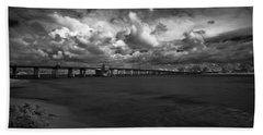 Infrared Longboat Pass Bridge Beach Sheet