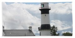 Inishowen Lighthouse Beach Towel
