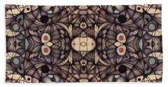 Ink Thoughts Variation Two Beach Towel