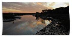 Inlet Sunset Beach Towel