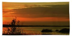 Beach Sheet featuring the photograph Inner Glow by Laura Ragland