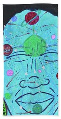 Inner-stellar Space Beach Towel