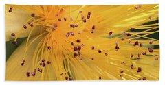 Inside A Flower - Favorite Of The Bees Beach Sheet