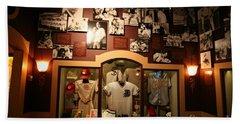 Inside Baseball Hall Of Fame Displays I Beach Towel
