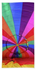 Inside Out Beach Towel by Marie Leslie