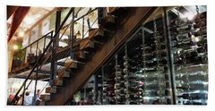 Inside Ulele The Wine Storage Beach Towel by Judy Wanamaker