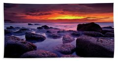 Beach Sheet featuring the photograph Inspiration by Jorge Maia