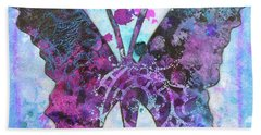 Inspire Butterfly Beach Towel