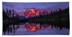 Intense Reflection Beach Towel