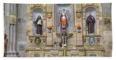 Interior View Of Church In Guanajuato Mexico Beach Towel