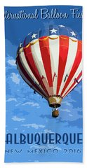 International Balloon Fiesta Beach Towel