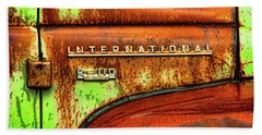 Beach Towel featuring the photograph International Mcintosh  Horz by Jeffrey Jensen