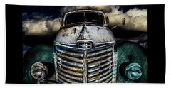 Beach Towel featuring the photograph International Truck 6 by Michael Arend