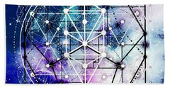 Beach Towel featuring the digital art Intertwined  by Bee-Bee Deigner
