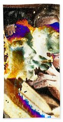 Intimate Conversation Beach Towel