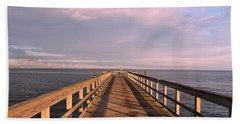 Into The Clouds Beach Towel by Karen Silvestri