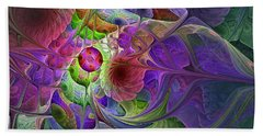 Into The Imaginarium  Beach Towel