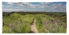 Beach Towel featuring the photograph Into The Loess Hills by Susan Rissi Tregoning