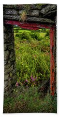 Beach Towel featuring the photograph Into The Magical Irish Countryside by James Truett