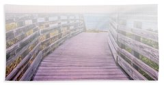 Into The Mist Beach Towel by Swank Photography