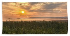 Into The Misty Sunrise Beach Sheet