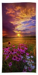 Into The Moment Beach Towel