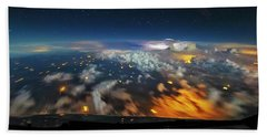 Into The Storm Beach Towel