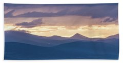 Into The Sunset Beach Towel