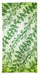Into The Thick Of It, Green Beach Towel