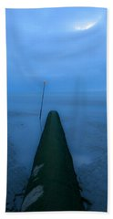 Beach Towel featuring the photograph Into The Unknown by Menega Sabidussi