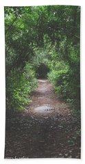 Into The Wormhole Beach Sheet by Stefanie Silva