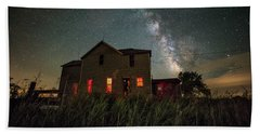 Beach Towel featuring the photograph Invasion by Aaron J Groen