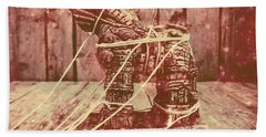 Invasion In Ancient History Beach Towel