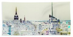 Beach Towel featuring the photograph Inversion Layer by Alex Lapidus