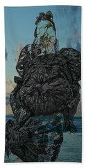 Beach Towel featuring the photograph Invisable Lady by Joan Reese