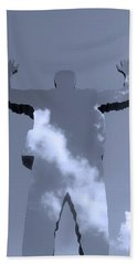 Beach Towel featuring the photograph Invisible ... by Juergen Weiss