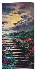 Invitation To Heaven Beach Towel by Randy Burns