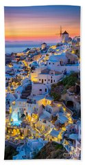 Oia Sunset Beach Towel