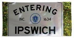 Ipswich 1634 Beach Towel