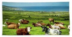 Ireland - Westcoast Beach Sheet by Juergen Klust