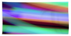Iridescence Beach Towel