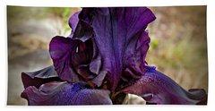 Iris Beauty Beach Towel