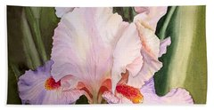 Iris Flower Beach Sheet