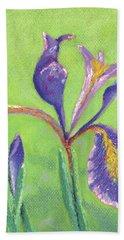 Iris For Iris Beach Towel