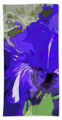 Iris Impressions Beach Towel