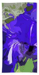 Iris Impressions Beach Sheet